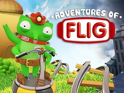 Adventures of Flig - air hockey shooter