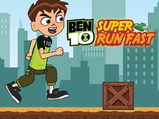 Ben 10 Super Run Fast
