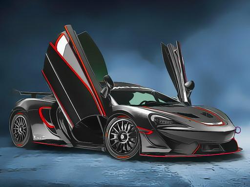 British Racing Cars Jigsaw