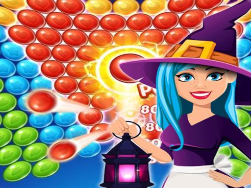 Bubble Shooter Halloween Game