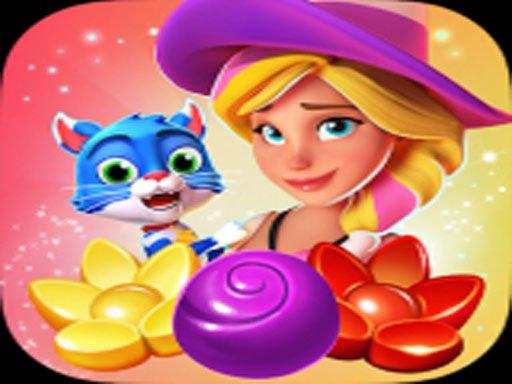 Cartoon Crush Candy Sweet Legend Match 3 Puzzle
