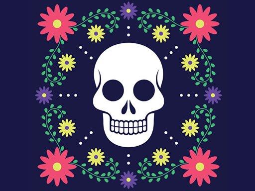 Colorful Skull Jigsaw