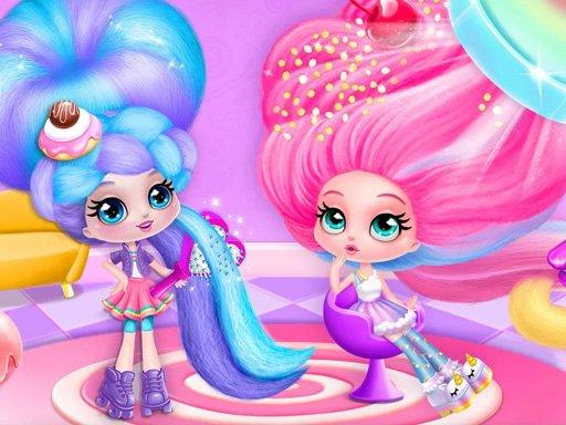 Cotton Candy Style Hair Salon