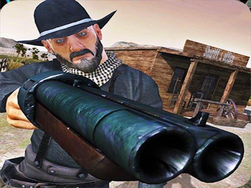 Cowboy Escape Desert
