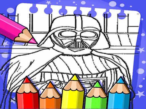 Darth Vader Coloring Book