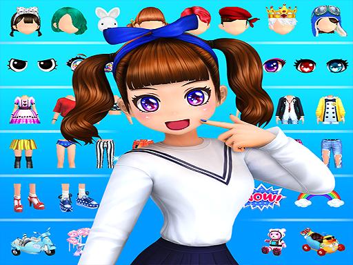 Dress up-3D beauty girls