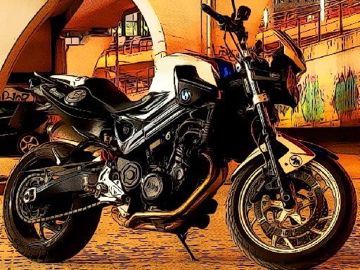 Fast Motorbikes Jigsaw