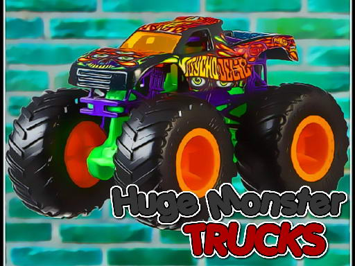 Huge Monster Trucks