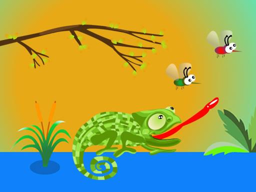 Hungry Chameleon