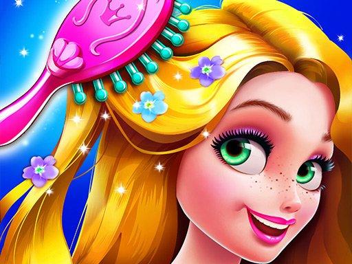 Long Hair Princess Hair Salon