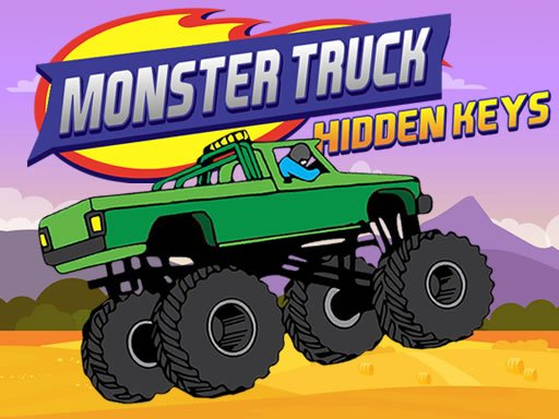 Monster Truck Hidden Keys