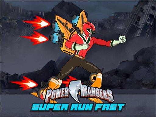 Power Rangers Run Fast - Escape Zombies