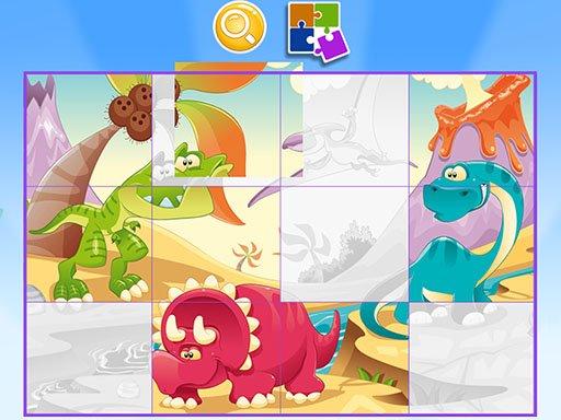 Puzzle Game Cartoon
