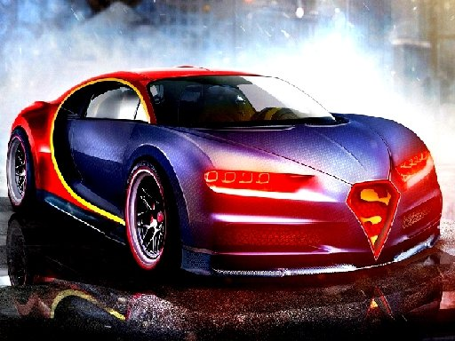 Racing Bugatti Jigsaw Puzzle