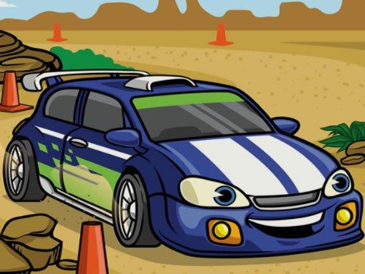 Racing Cartoons Jigsaw