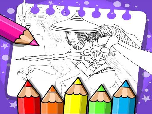 Raya And The Last Dragon Coloring
