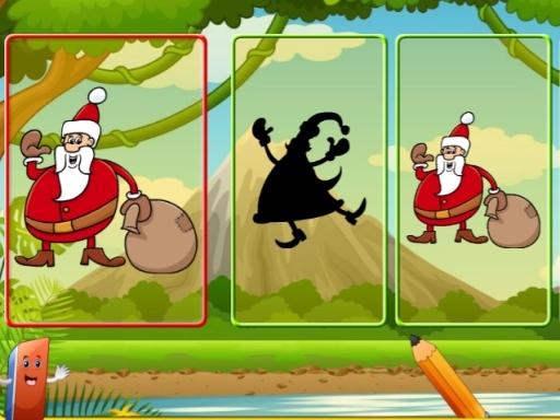 Santa Shadow Match