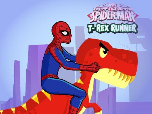 Spiderman T-Rex Runner