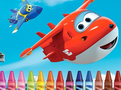 Superwings Coloring