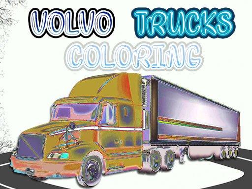Volvo Trucks Coloring